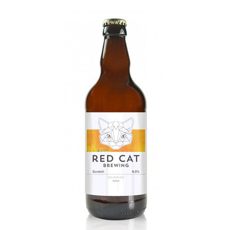 Red Cat - Scratch - Golden Ale - 500ml Bottle