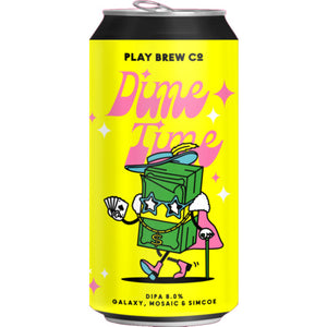 Play Brew Co - Dime Time - DIPA - 440ml Can