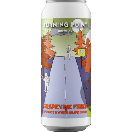 Turning Point - Grapevine Fires - Apricot & White Grape Sour Ale - 440ml Can