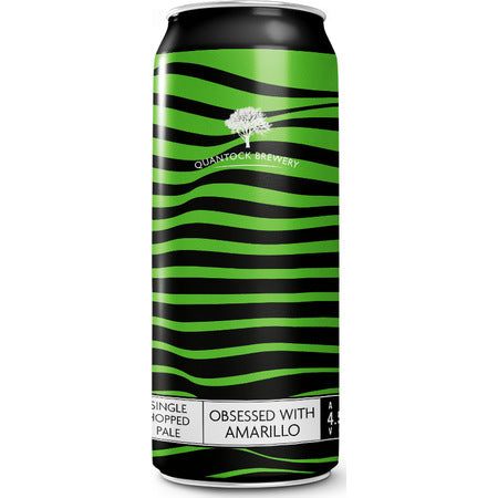 Quantock Brewery - Obsessed With Amarillo - Single Hop Pale Ale - 440ml Can