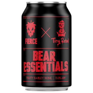 Fierce Beer - Bear Essentials - Fruity Barley Wine - 330ml Can