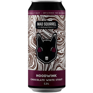 Mad Squirrel - Hoodwink - Chocolate White Stout - 440ml Can