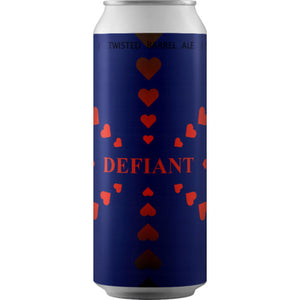 Twisted Barrel Ale - Defiant Hearts - Kveik IPA - 440ml Can