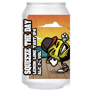 Wild Weather - Squeeze the Day - Lemon Lime Tart IPA - 330ml Can