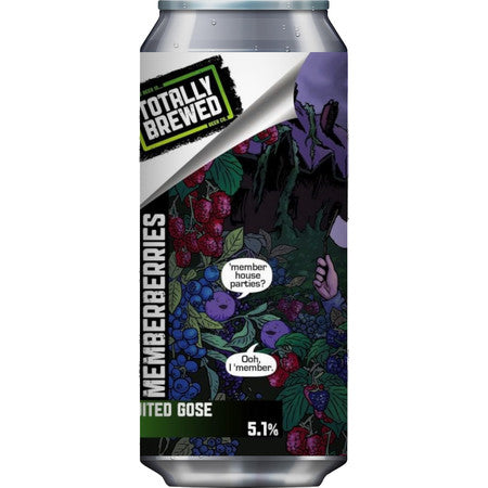 Totally Brewed - Memberberries - Fruited Gose - 440ml Can