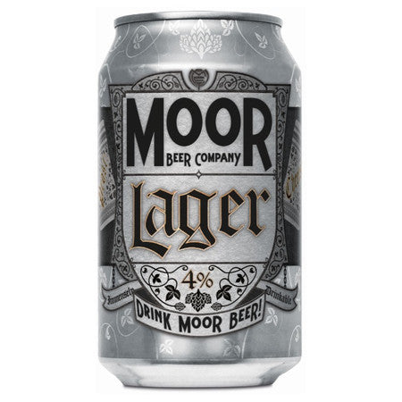 Moor Beer Company - Lager - 330ml Can