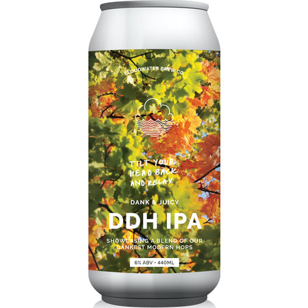 Cloudwater - Tilt Your Head Back and Relax - DDH IPA - 440ml Can