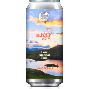 Ridgeside Brew Co - Nothing But The Rain v5 - Low Alcohol Pale Ale - 440ml Can
