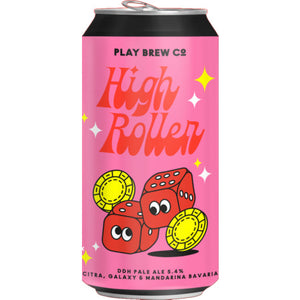 Play Brew Co - High Roller - DDH Pale Ale - 440ml Can