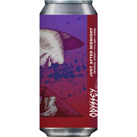 Odyssey Brew Co - Just After Midnight - Imperial Stout - 440ml Can