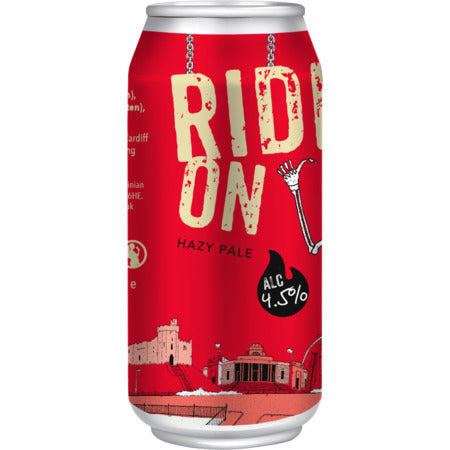 Crafty Devil - Ride On - Hazy Pale Ale - 440ml Can