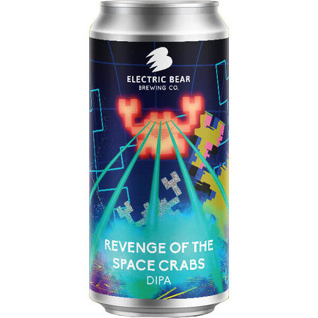Electric Bear Brewing - Revenge of the Space Crabs - DIPA - 440ml Can