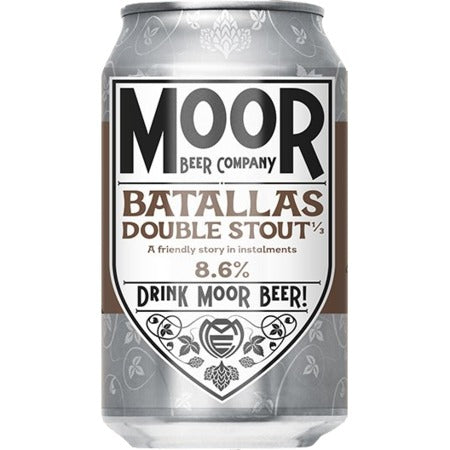 Moor Beer Company - Double Stout - 330ml Can