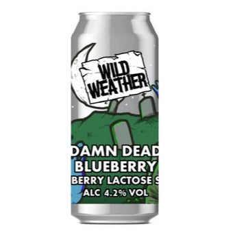 Wild Weather Ales - Damn Dead Blueberry - Blueberry Lactose Sour - 440ml Can