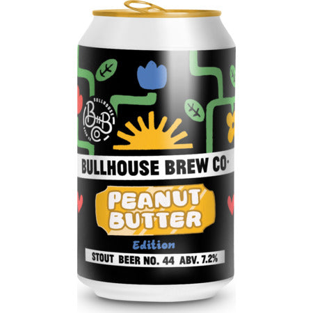 Bullhouse Brew Co - Beer No. 044 - Peanut Butter Stout - 330ml Can