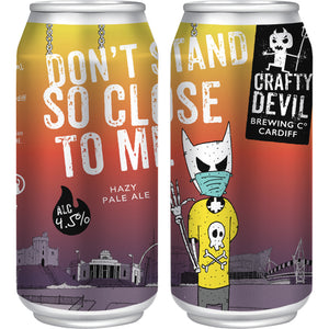 Crafty Devil - Don't Stand So Close To Me - Hazy Pale Ale - 440ml Can