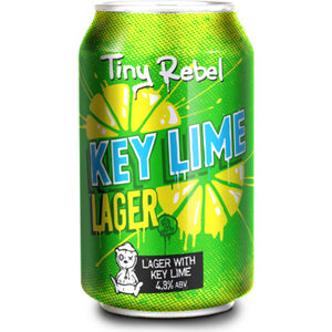 Tiny Rebel - Key Lime Lager - Lager with Key Lime - 330ml Can