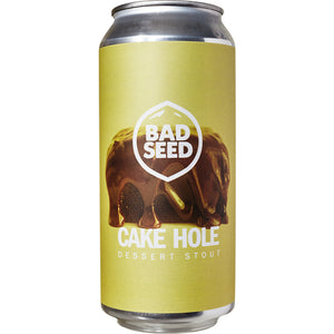 Bad Seed - Cake Hole - Dessert Stout - 440ml Can
