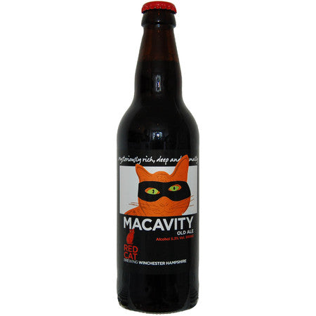 Red Cat - Macavity - Old Ale - 500ml Bottle