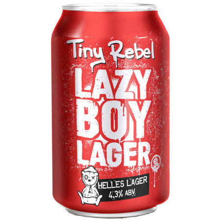 Tiny Rebel - Lazy Boy Lager - Helles Lager - 330ml Can