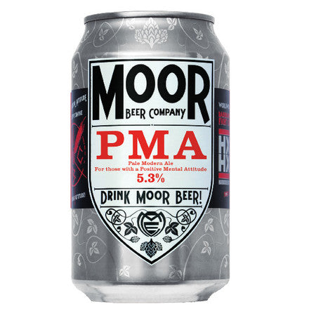 Moor Beer Company - PMA - Pale Modern Ale - 330ml Can