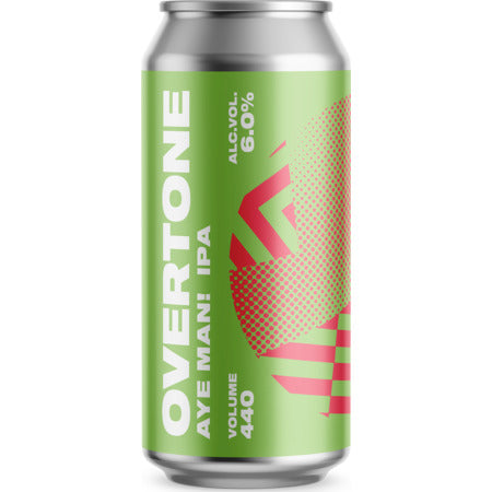 Overtone Brew Co - Aye Man! - India Pale Ale - 440ml Can