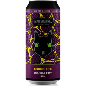 Mad Squirrel - Shrub Life - Bramble Sour - 440ml Can