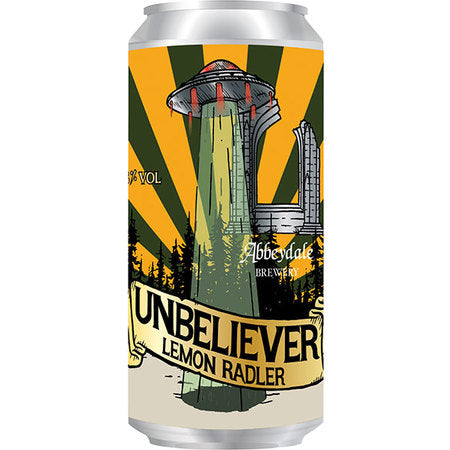 Abbeydale - Unbeliever - Lemonade Radler - 440ml Can