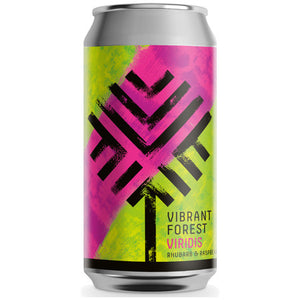 Vibrant Forest - Viridis - Rhubarb & Raspberry Sour - 440ml Can