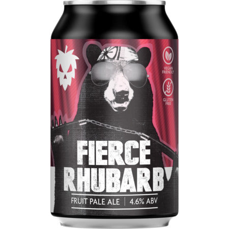 Fierce Beer - Fierce Rhubarb - Fruit Pale Ale - 330ml Can
