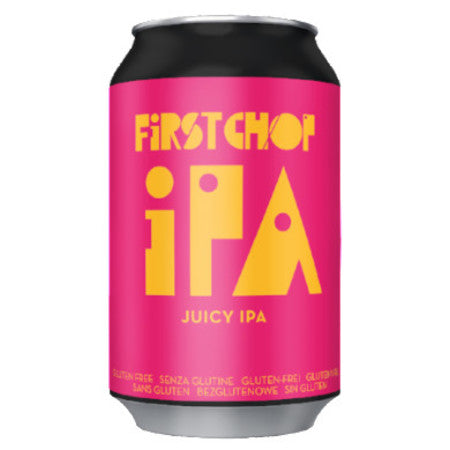 First Chop - iPA - Gluten Free Juicy IPA - 330ml Can