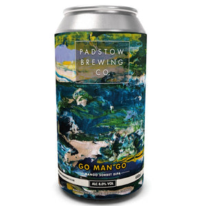 Padstow Brewing Co - Go Man Go - Mango Sorbet DIPA - 440ml Can