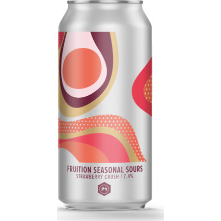 71 Brewing - Strawberry Crush - Fruition Seasonal Sours - 440ml Can
