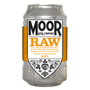 Moor Beer Company - RAW - Best Bitter - 330ml Can