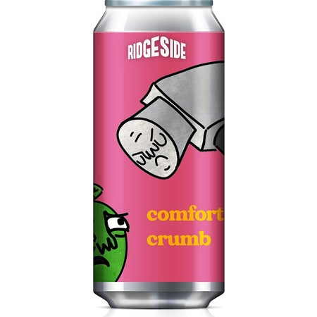 Ridgeside Brew Co - Comfortably Crumb - Blueberry, Redcurrant, Apple & Custard Sour - 440ml Can