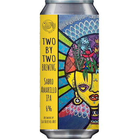 Two by Two Brewing  - Sabro Amarillo IPA - 440ml Can