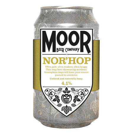 Moor Beer Company - Nor'Hop - Pale Ale - 330ml Can