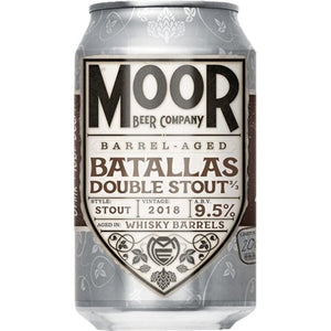 Moor Beer Company - Batallas - Whisky Barrel Aged Double Stout - 330ml Can