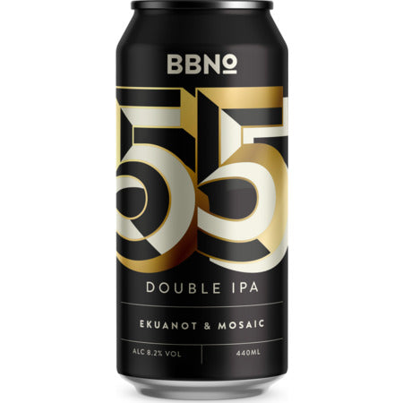 Brew by Numbers - 55|Double IPA - Ekuanot & Mosaic - 440ml Can