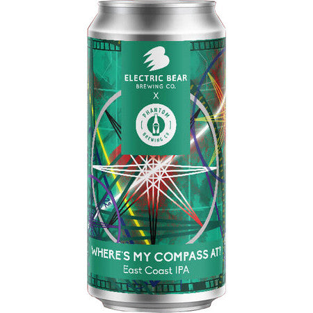 Electric Bear Brewing - Where's My Compass At? - East Coast IPA - 440ml Can