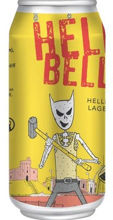 Crafty Devil - Helles Bells - Helles Lager - 440ml Can