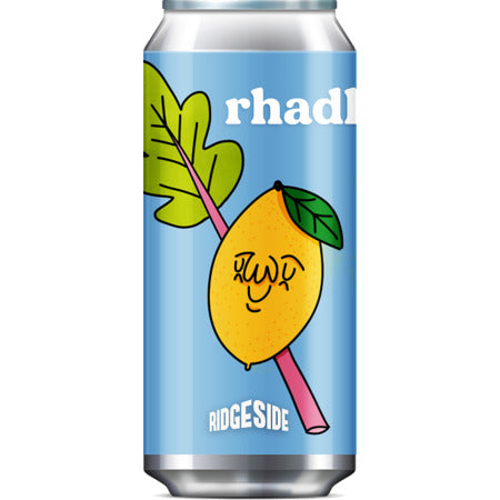 Ridgeside Brew Co - Rhadler - Rhubarb & Lemon Radler - 440ml Can