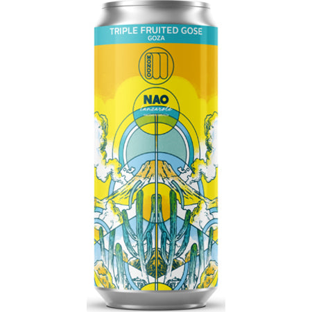 Mondo Brewing - Goza - Triple Fruited Gose - 440ml Can