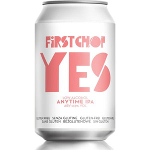 First Chop - YES- Low Alcohol Anytime IPA - 330ml Can