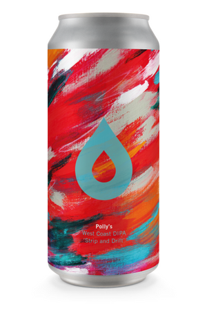 Polly's Brew Co - Strip & Drift - West Coast DIPA - 440ml Can