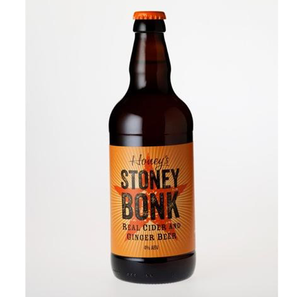 Honey's Cider - Stoney Bonk - Real Cider and Ginger Beer - 500ml Bottle