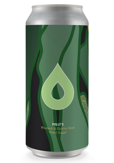 Polly's Brew Co - Plant Sugar - Rhubarb & Quince Gose - 440ml Can