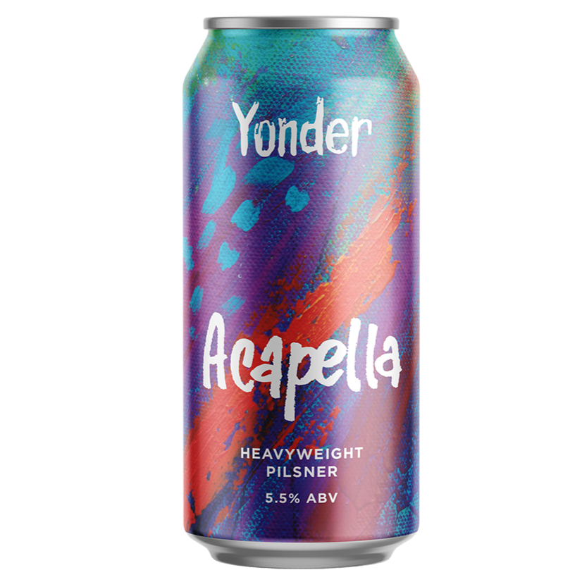 Yonder Brewing - Acapella - Heavyweight Pilsner - 440ml Can