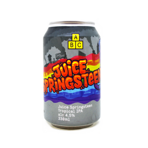 Alphabet Brewing Co - Juice Springsteen - Tropical IPA - 330ml Can