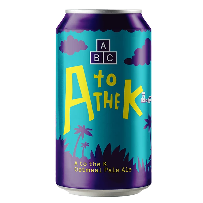 Alphabet Brewing Co - A to the K - Pale Ale - 330ml Can